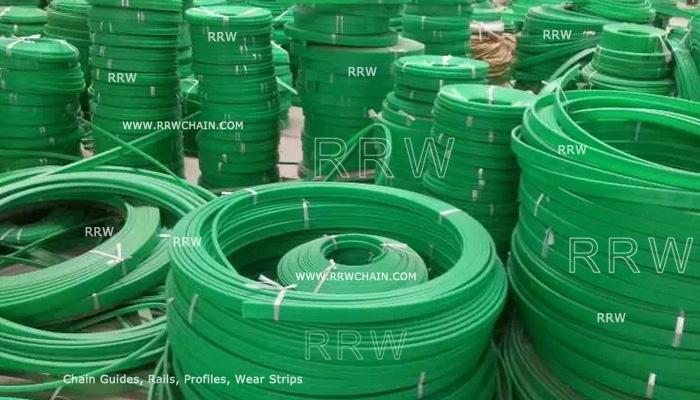 UHMWPE Wear Strips Profiles Conveyor Chain Belt Guide - RRW
