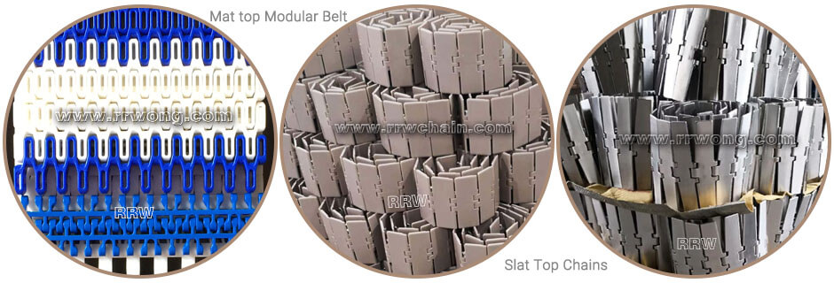 Table Top Conveyor Chain Belts Components Conveyor Table Top Chains Modular Belts Guide Rails Sprockets